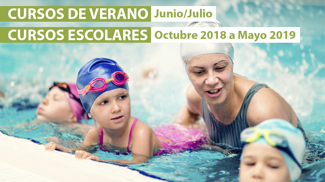 Cursos de Verano y Cursos de temporada natación