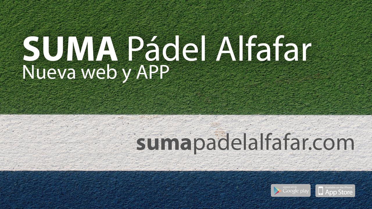 SUMA Padel Alfafar | Nueva web y APP
