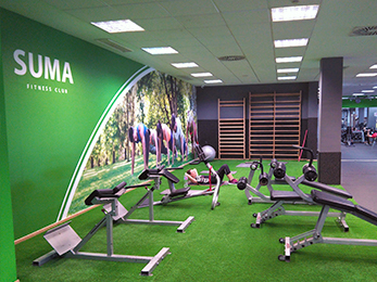 Zona Estiramientos | Gimnasio Alfafar | SUMA Fitness Club