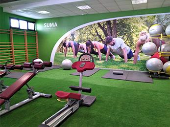 Zona Estiramientos | Gimnasio Valencia | SUMA Fitness Club Patacona