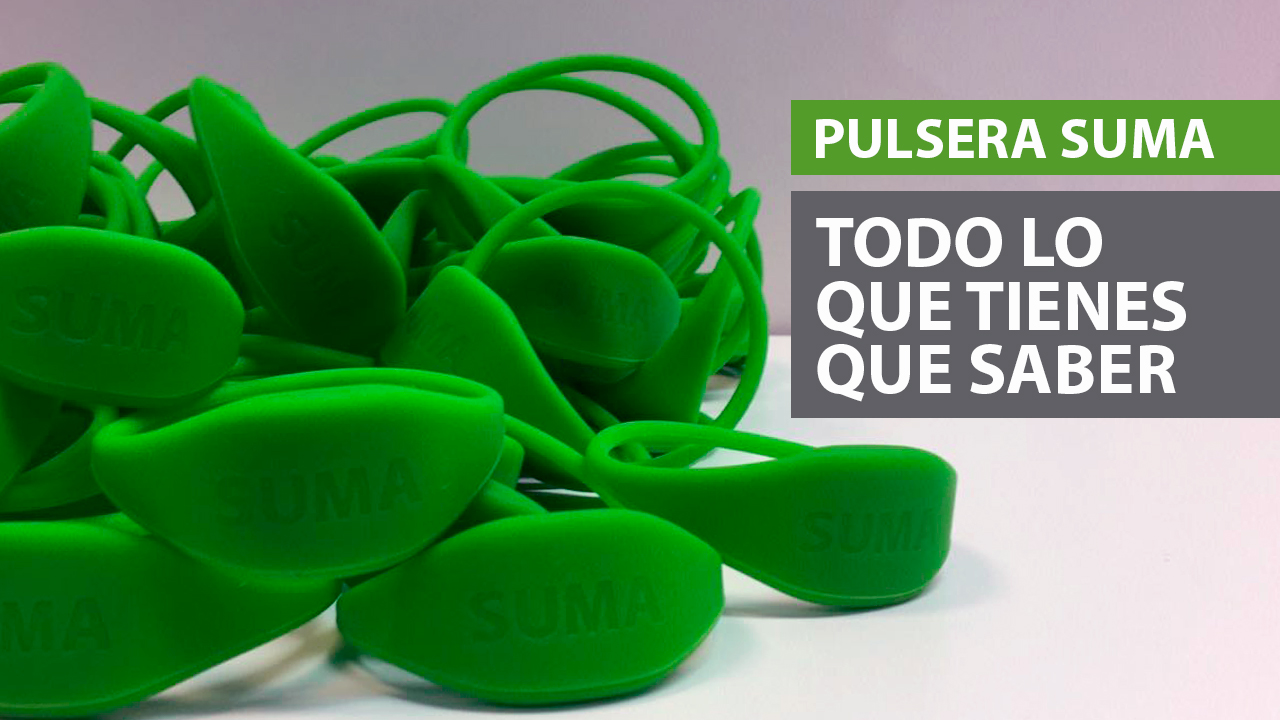Pulsera SUMA | Gimnasio Valencia | SUMA Fitness Club Patacona
