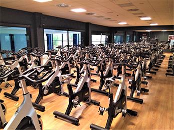 Sala Spinning | Gimnasio Valencia | SUMA Fitness Club Patacona