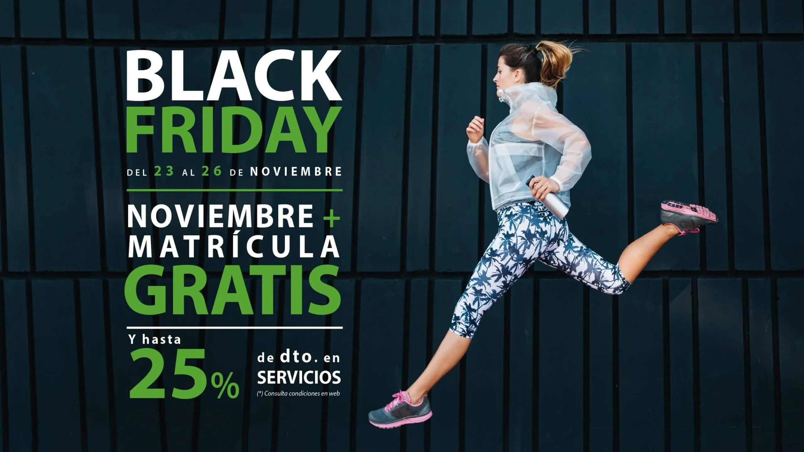 Gimnasio Castellón | Oferta Promoción BLACK FRIDAY | SUMA Fitness Club Rafalafena