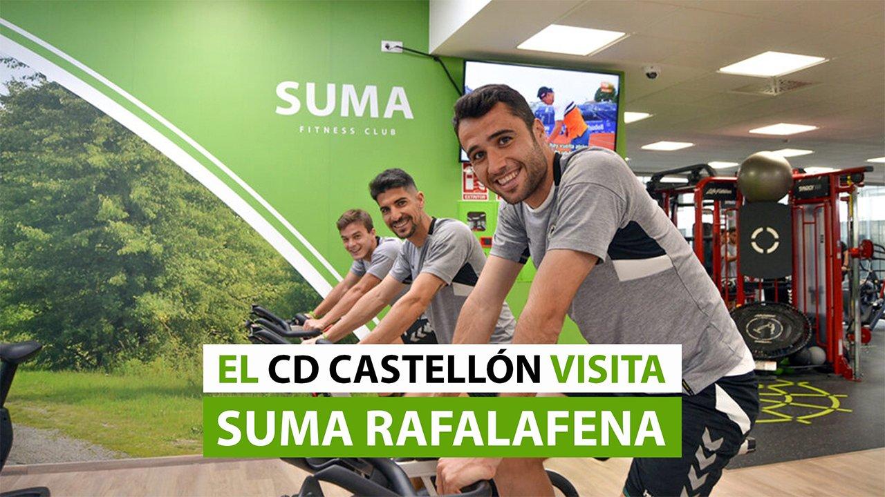Entrenamiento CD Castellón en SUMA Rafalafena